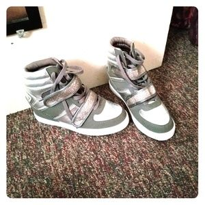 Shoes - Baby phat wedge sneakers